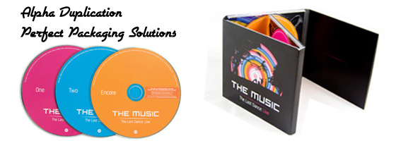 CD Packaging Printing