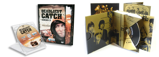 Custom CD packaging