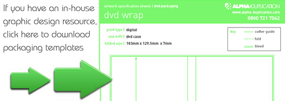 DVD Packaging Printing Templates