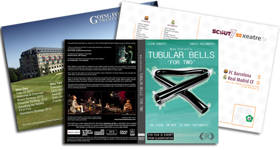 DVD Duplication London