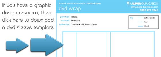 CD DVD Sleeve Printing Template