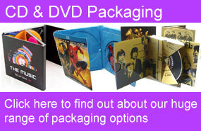 CD DVD Printed Packaging