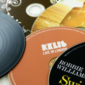 Audio CD Duplication Selection