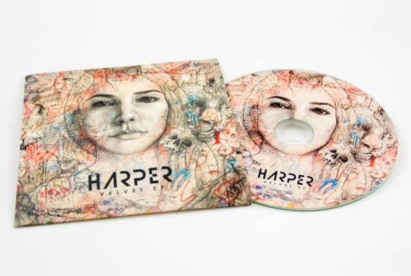 CD Duplication - Digitally Printed CD