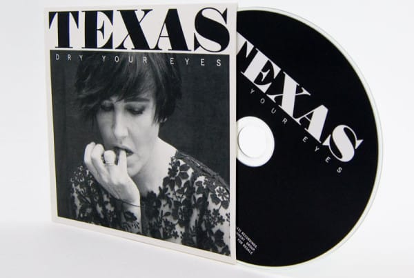 Screen Printed CD - Texas - Dry Your Eyes