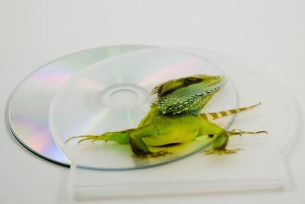 UV printing - CD C-Shell
